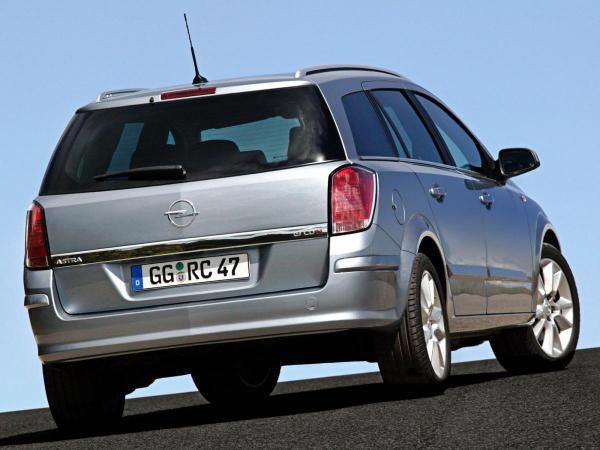 Opel Astra H Caravan 1.7 CDTI (80 Hp)